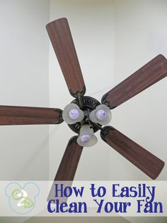 At last, no more dust falling in my face when cleaning the ceiling fan!