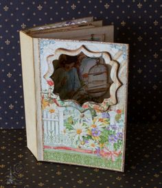 Secret Garden Mini Album by Tati Scrap #graphic45  #minialbums