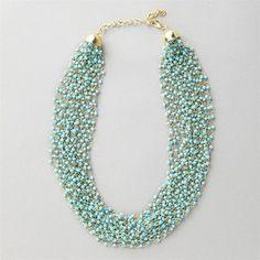 super cute statement necklace!