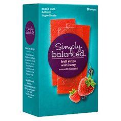 Wild Berry Fruit Strips 10 ct - Simply Balanced