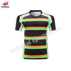 100% polyester rugby League subliamtion custom whole rugby jersey personalized custom printed Training suit futebol american  #Affiliate