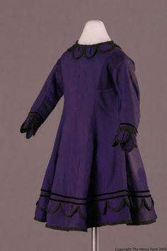 1870s Child's Dress
