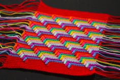 Apache Tears | Sarah London, #crochet, stitch, technique, blanket, throw, #haken, gratis patroon (Engels), steek, techniek, #haakpatroon, tutorial