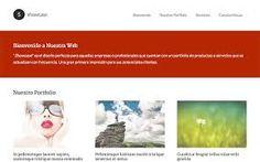 Resultado de imagen de paginas web minimalistas diseño