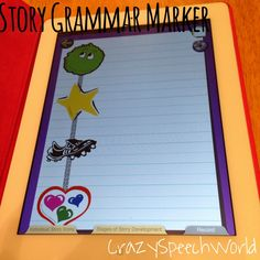 Story Grammar Marker App {Review & Giveaway!}