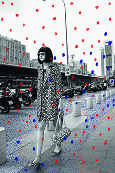 Louis Vouitton/Yayoi Kusama When Fashion meets art. Cuando la moda conoce al arte. Everyone needs some colored rain. Yayoi Kusama, Illustration Mode, Photo Illustration, Illustration Fashion, Medical Illustration, Fashion Collage, Fashion Art, Fashion Black, Trendy Fashion