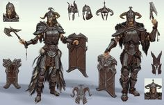 Steel Armor | Video Games Artwork