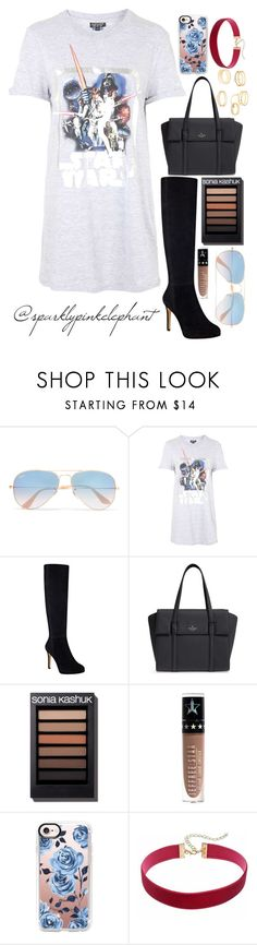 """""""Last Jedi Movie Outfit!"""" by sparklypinkelephant ❤ liked on Polyvore featuring Ray-Ban, Topshop, Nine West, Kate Spade, Jeffree Star, Casetify and Charlotte Russe"""