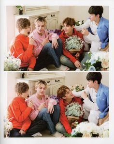 wonwoo, vernon, mingyu, s.coups • seventeen