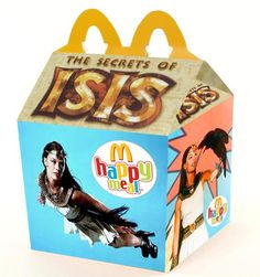 """""""The Secrets of Isis"""" Happy Meal ~ I loved this show when I was a Kitten"""