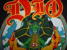 Vintage Dio Sacred Heart T-Shirt M/S