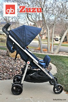 """Now THIS is a lightweight travel stroller! Meet the GB Zuzu stroller: it won """"best in show"""" at the New York Baby Show and you MUST see its unique fold!"""