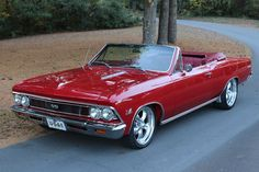 Up for sale we have a 1966 Chevy Chevelle SS Convertible. This is a true Super Sport with the 138 vin code