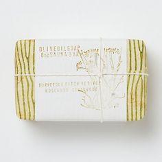 packaging inspiration for homemade bar of soap