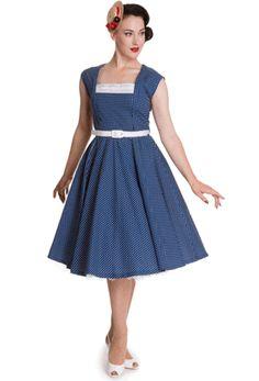 9f988b51c03 Hell Bunny Judy Dress White Tea Dresses