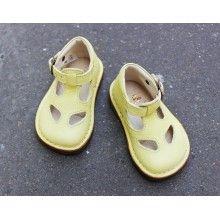 Chaussures montantes Jaune vanillé [Pèpè]