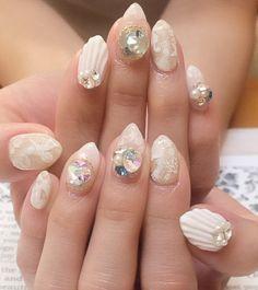 Nail Art - Beetle Nail : 八幡 シェルネイル #ネイル #ビートル近江八幡 #ビートルネイル #ネイル近江八幡