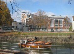 Mulhouse : la Fonderie - vue du canal