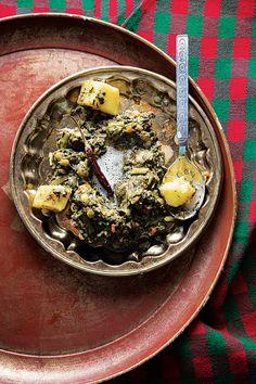Sai Bhaaji (Sindhi Mixed Greens) Recipe - Saveur.com. Spicy greens and ...