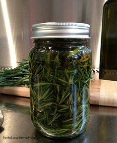 how to make infused oil with rosemary