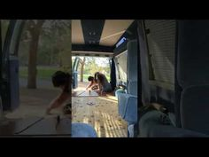 Fitting all of the comforts of home in a roughly 70 square foot space using basic hand tools and a little elbow grease. See our DIY van build unfold. Slide In Truck Campers, Truck Camping, Van Camping, Cheap Campers, Truck Camper Shells, Minivan Camper Conversion, Kombi Home, Trailer Diy, Rv Camping