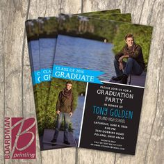 Personalized graduation invitation from Boardman Printing. order yours today! Criminal Justice Graduation, Class Of 2016, Graduation Invitations, Poland, Ohio, High School, Printing, Columbus Ohio, Graduation Party Invitations