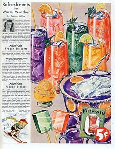 Vintage food advertising that includes recipes    Found at Community Livejournal.    From the 1940s: