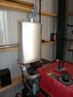 Everyone knows small gasoline fueled engines are noisy and loud enough that hearing protection should be used when working with or around devices. Generator Shed, Emergency Generator, Power Generator, Silent Generator, Portable Generator, Shipping Container Home Designs, Container House Design, Tiny House Design, Soundproof Box