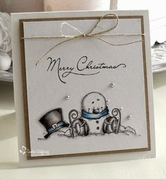 "Love the simplicity of this card Made by Sandra: ""Golden Oldie"""