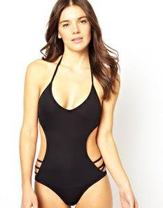 Image 1 ofBaku Multi String Cut Out Swimsuit
