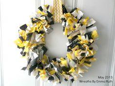 Hawkeye Wreath