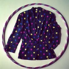 pois jacket shirt