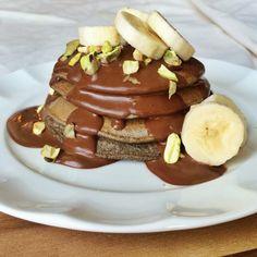 Casey's Wholesome Kitchen: Gluten Free Vanilla Maca Buckwheat Pancakes with a...