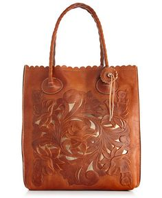 Patricia Nash Tooled Cavo North South Tote - Patricia Nash - Handbags & Accessories - Macy's