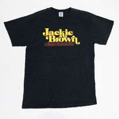 Vintage 1999 Jackie Brown Quentin Tarantino Cult Classic Movie T-Shirt for sale!!!    http://www.ebay.com/itm/-/152596623761?    #vintage #90s #JackieBrown #QuentinTarantino #Blaxploitation #CultMovie #Cullt #Classic #Movie #Crime #Thriller #Tee #Shirt #Rare #Large #Black #SamuelLJackson #PamGrier #PulpFiction #KillBill