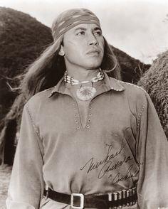 Michael Ansara as Cochise on the Broken Arrow TV series