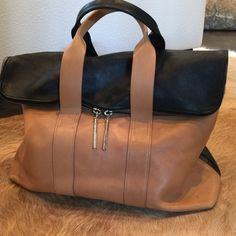 """3.1 Phillip Lim 31 hour Bag Gorgeous color blocked leather. 161/4""""W 121/2""""H. In amazing shape inside and out. Great weekend travel bag! 3.1 Phillip Lim Bags Totes"""