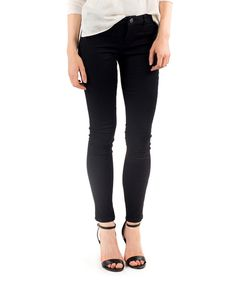 Take a look at this DownEast Basics Black London Jeggings today!