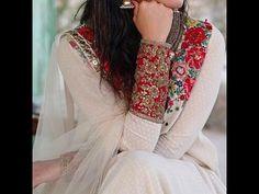 Latest Pakistani Party Wear Dresses Fashion Of 2017 – Business Loans and Ideas Pakistani Party Wear Dresses, Pakistani Outfits, Indian Dresses, Indian Outfits, Net Dresses, Indian Saris, Girls Dresses, Ethnic Fashion, Asian Fashion