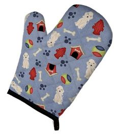 Dog House Collection Bedlington Terrier Sandy Oven Mitt BB2704OVMT, Multi