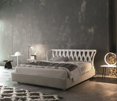 Wooden double bed NATURAL - Twils