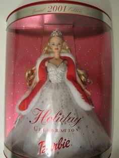 Holiday 2001 Barbie #50304
