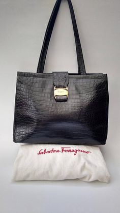 b6609fe70ac 53 Best SALVATORE FERRAGAMO images in 2019   Etsy seller, Salvatore ...