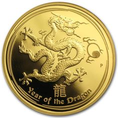 2012 Dragon proof one ounce gold coin Australian gold coin , gold coin ,gold coin collecting,perth mint gold coins ,investment gold coins,dragon 2012  gold coin