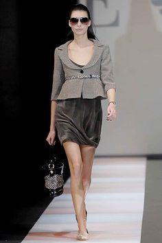 Emporio Armani Fall 2007 Ready-to-Wear Collection Photos - Vogue