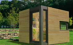 Backyard Shed Office | Garden Shed Home Offices Sprouting Up in UK : TreeHugger
