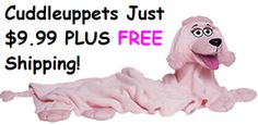 CuddleUppets Just $9.99 PLUS FREE Shipping Down From $19.99!