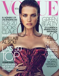 Natalia Vodianova by Mert & Marcus Vogue Mexico January 2011