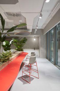Japanese Minimalism, Japanese Aesthetic, Japanese Values, Shoji Screen, Pharma Companies, Concrete Table, Floor Layout, Open Office, Workspace Design