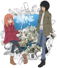 Eden of the East. I finished the entire season in one day including all of the movies, it was just too good.